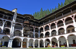 Rila monastery art Royalty Free Stock Photos