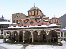 Rila Monastery (Bulgaria). Rila Monastery, Bulgaria in winter Stock Photos