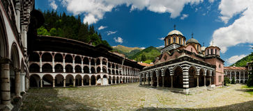 Rila monastery - Bulgaria Royalty Free Stock Images