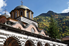 Rila monastery Bulgaria Stock Photos