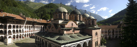 Rila monastery in Bulgaria  Royalty Free Stock Photography
