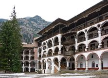 Rila Monastery in Bulgaria Royalty Free Stock Photos