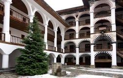 Rila Monastery in Bulgaria Royalty Free Stock Photos