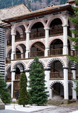 Rila Monastery in Bulgaria Royalty Free Stock Images