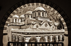 Rila Monastery in Bulgaria Royalty Free Stock Image