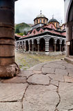Rila Monastery in Bulgaria Royalty Free Stock Photo