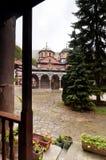 Rila Monastery in Bulgaria Royalty Free Stock Photography