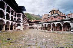 Rila Monastery in Bulgaria Stock Photography