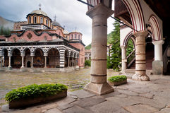 Rila Monastery in Bulgaria Stock Images