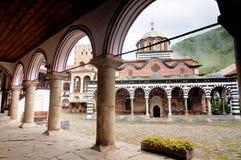 Rila Monastery in Bulgaria Stock Image