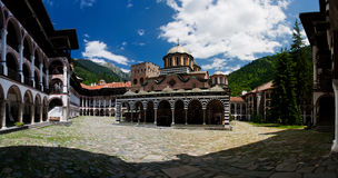 Rila monastery - Bulgaria. Monastery saint Yoan Rilski in Bulgaria. The monastery of Saint John (Yoan) of Rila, founded in the 10th century. Rila monastery, a Stock Images