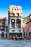Rila Monastery, Bulgaria bell tower Stock Photo