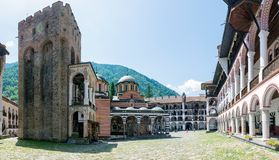 Rila Monastery Royalty Free Stock Photo