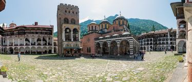 Rila Monastery Stock Photography