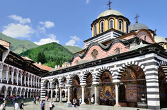 Rila monastery in Bulgaria. Stock Photo