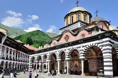 Rila monastery in Bulgaria. Stock Photo