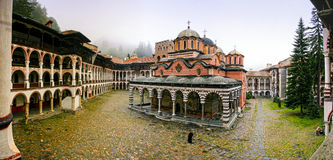 Rila Monastery in Bulgaria Royalty Free Stock Images