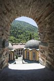 Rila Monastery, Bulgaria stock photography