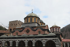 Rila monastery in Bulgaria Stock Photo