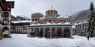 Free Rila Monastery In The Snow Royalty Free Stock Photos - 137167368
