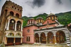 Rila Monastery.The largest Orthodox monastery in Bulgaria Royalty Free Stock Photos