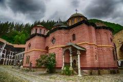 Rila Monastery.The largest Orthodox monastery in Bulgaria Royalty Free Stock Photography