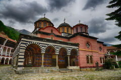 Rila Monastery.The largest Orthodox monastery in Bulgaria Stock Photo