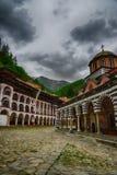 Rila Monastery.The largest Orthodox monastery in Bulgaria Stock Photography