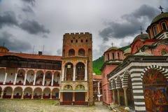 Rila Monastery.The largest Orthodox monastery in Bulgaria Royalty Free Stock Image