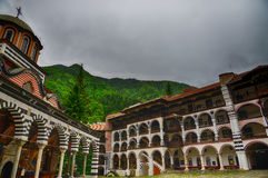Rila Monastery.The largest Orthodox monastery in Bulgaria Stock Image