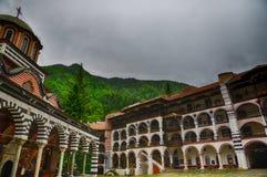 Rila Monastery.The largest Orthodox monastery in Bulgaria Stock Image