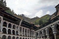 Rila monastery, the most famous monastery in Bulgaria Stock Image