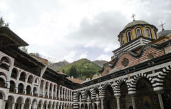Rila monastery, the most famous monastery in Bulgaria Royalty Free Stock Images