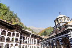 Rila Monastery  in  Rila Mountain Royalty Free Stock Photos