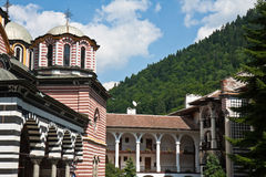 Rila Monastery View Stock Photo