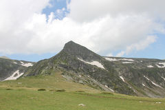 Rila mountain in Bulgaria Stock Image