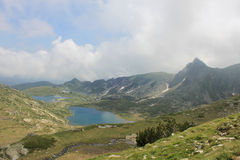 Rila mountain in Bulgaria Stock Images