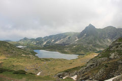 Rila mountain in Bulgaria Royalty Free Stock Photography