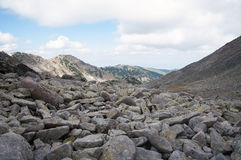 Rila mountain in Bulgaria Stock Image