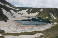 Rila mountain in Bulgaria Royalty Free Stock Images