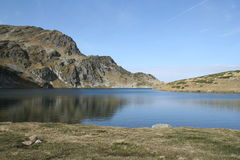 Rila Mountain and Kidney lake Royalty Free Stock Photo