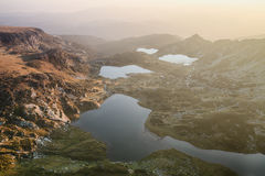 Rila Mountain Lakes, Bulgaria Stock Images