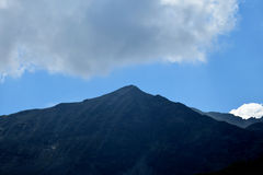 Rila mountain. Landscape with clear blue sky Stock Images