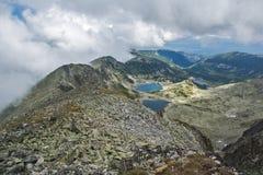 Rila Mountain, Musalenski Lakes and Musala Peak Stock Image