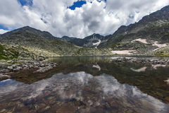 Rila Mountain, Musalenski Lakes and Musala Peak Royalty Free Stock Images
