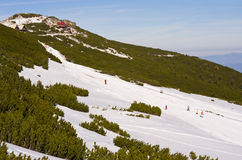 Rila mountains in Borovets, Bulgaria Royalty Free Stock Photo