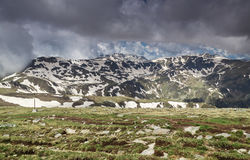 Rila mountains, Bulgaria. Mountain landscape from Rila mountains, Bulgaria Royalty Free Stock Photo