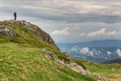 Rila mountains stock image