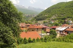 Rila village Royalty Free Stock Images