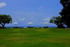 Rilassamento in Bali fotografie stock libere da diritti
